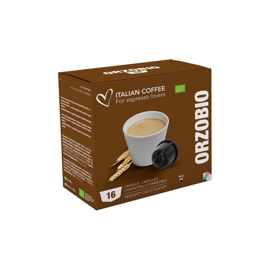 Italian Coffee Orzo 16 Cialde Compatibili Nescafè Dolce Gusto