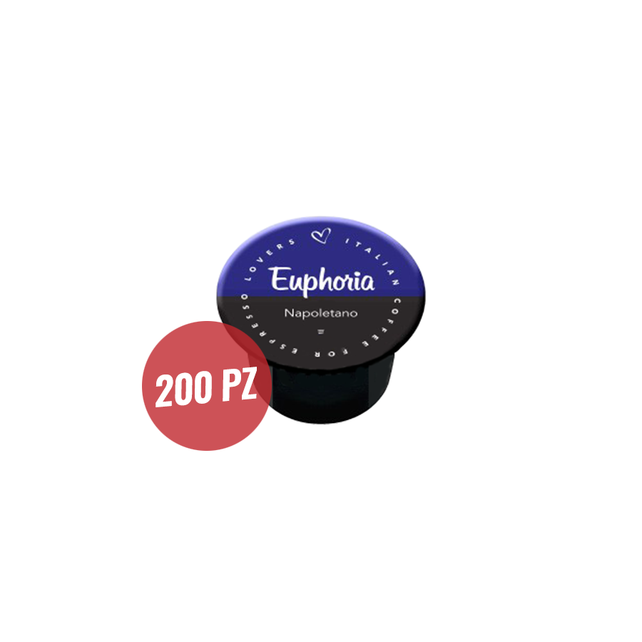 Euphoria Italian Coffee 200 Capsule Compatibili Lavazza Blue E In