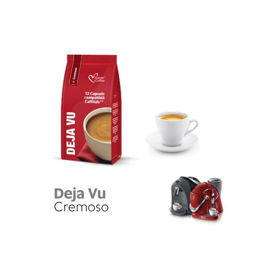 Italian Coffee Deja Vu 12 Capsule Compatibili Caffitaly